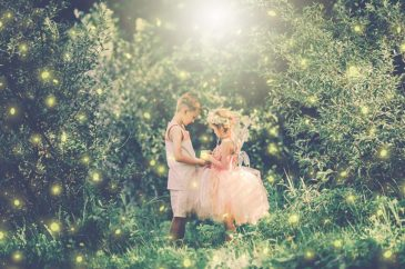 A tale of a Fairy sister and a Lost Boy Brother | Glitter and Glam Fairy Events