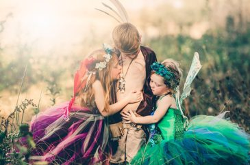 Fairies and a Lost Boy, Oh My! Glitter and Glam Fairy Event